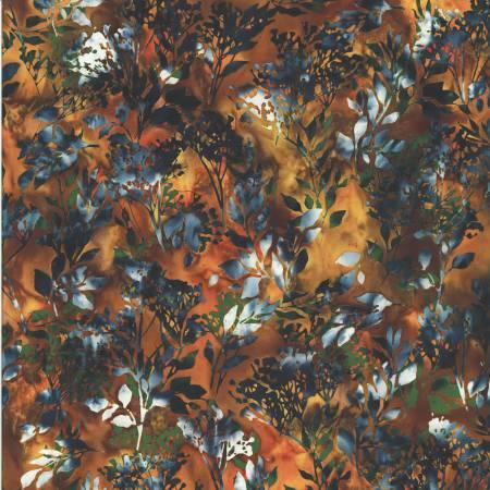 Amber Bali Batik Double Chop Floral
