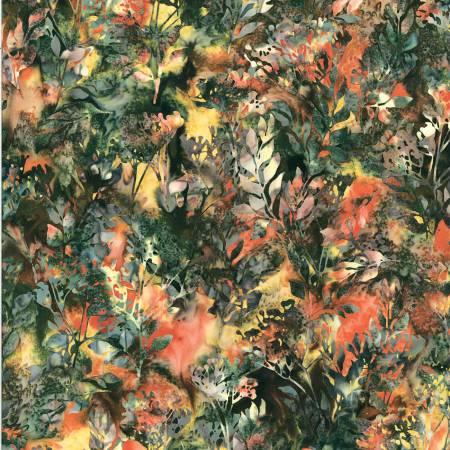 Bali Batik - Foliage - Rainforest - T2377-553