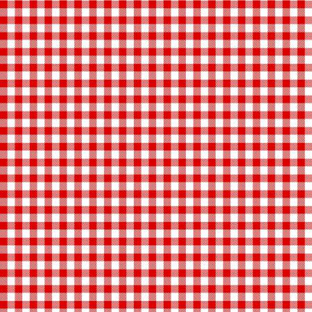 Red Gingham 20x27in Towel