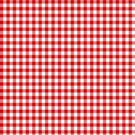TEA TOWEL Red Gingham 20x27in  T3 8