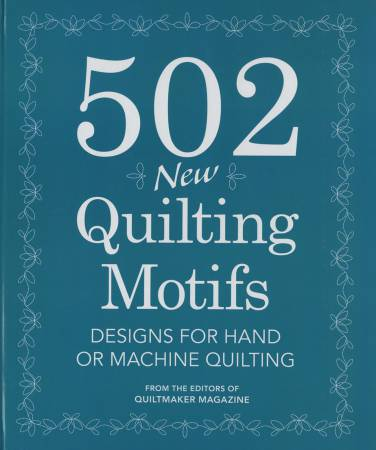 502 New Quilting Motifs - Softcover