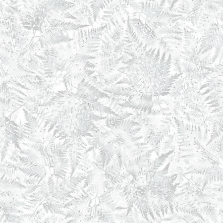 Perch Ice Frosted Fern w/Silver Metallic-42-176S