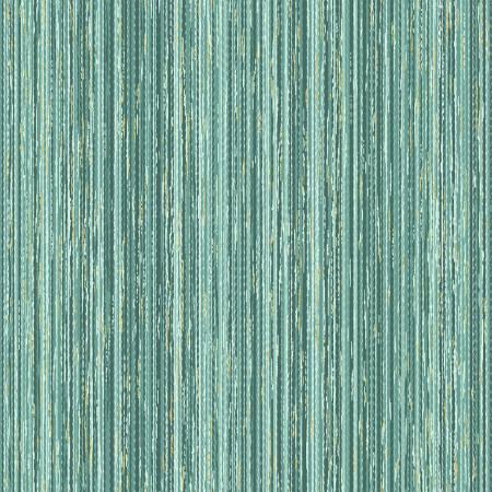Eucalyptus Stripe Texture w/Gold Metallic