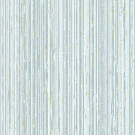 Home Sweet Home - Dusty Blue Stripe Texture w/Gold Metallic