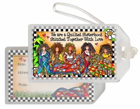 Quilt Sisterhood Luggage Tag