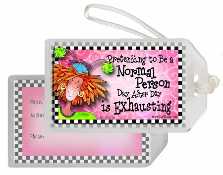 Pretending Luggage Tag
