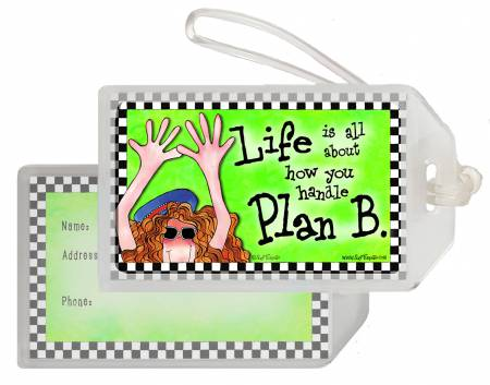 Plan B Luggage Tag