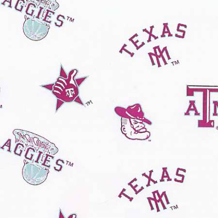 White Texas A&M Aggies Flat
