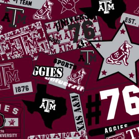 Texas A&M Aggies University All Over