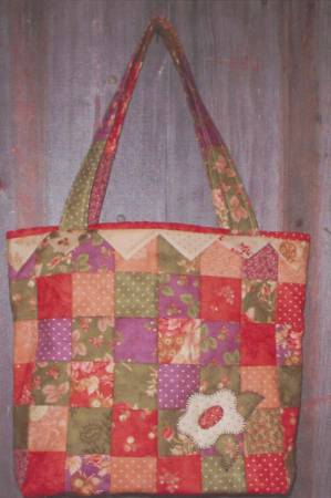 Little Scraps Flower Patch Bag Pattern