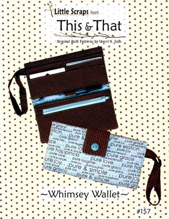 Little Scraps - Whimsy Wallet kit by This & That