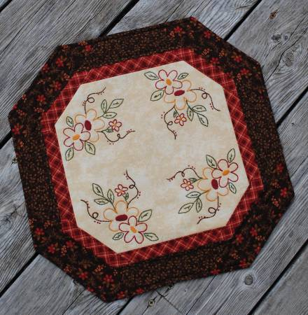BLOOM IN THE SPRINGTIME CANDLE MAT