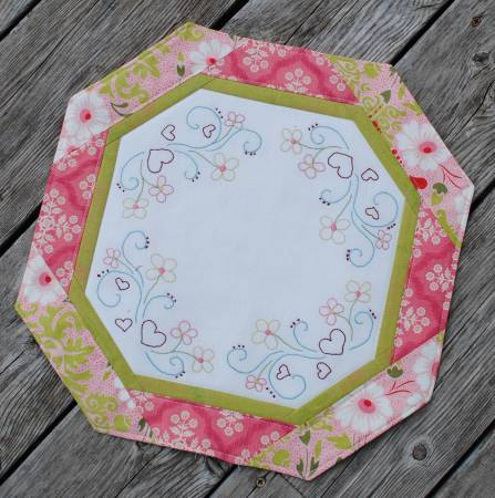 May Flowers Candle Mat