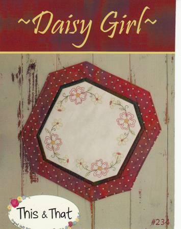Daisy Girl Mat Pattern #234
