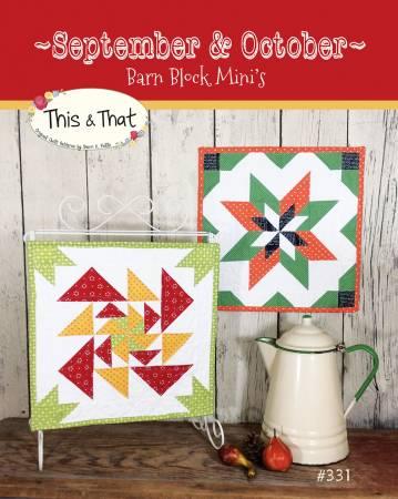 Pattern Barn Block Mini September/October