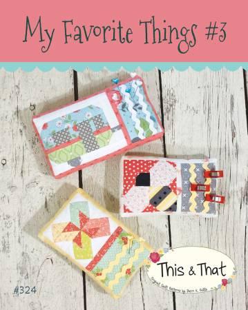 My Favorite Things 3 Pattern