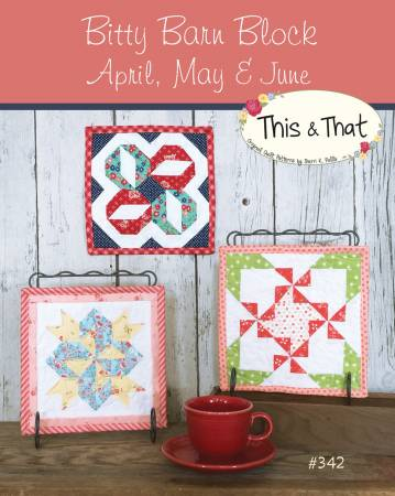 Bitty Barn Blocks April May June