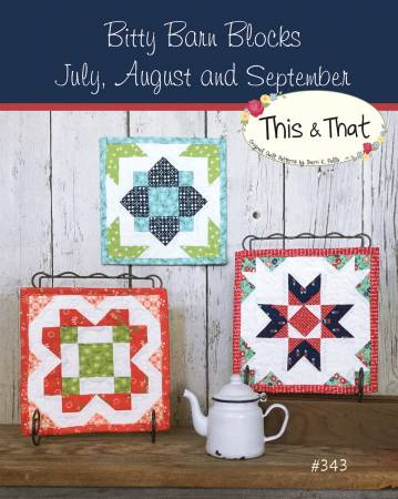 Bitty Barn Blocks July Septmeber