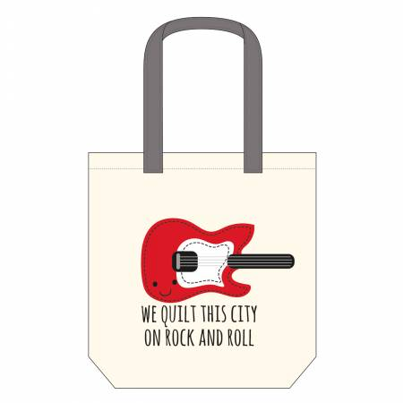 We Quilt This City Canvas Bag