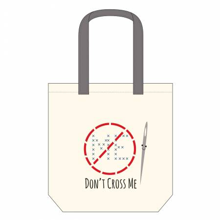 Canvas Tote Bag - Don't Cross Me