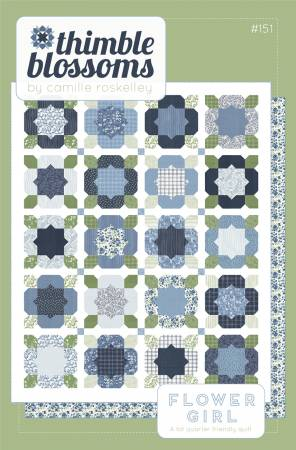 Flower Girl Pattern by Thimble Blossoms