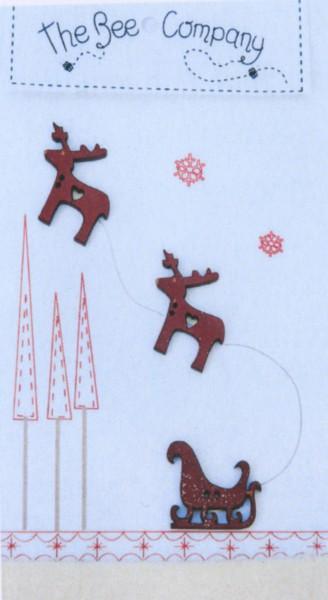 Buttons Christmas Sleigh
