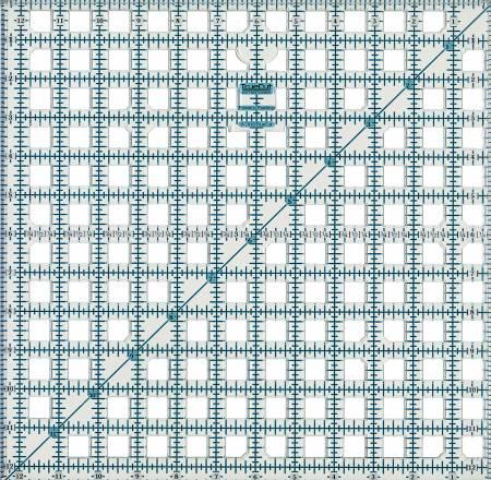TrueCut Ruler 12-1/2in Square