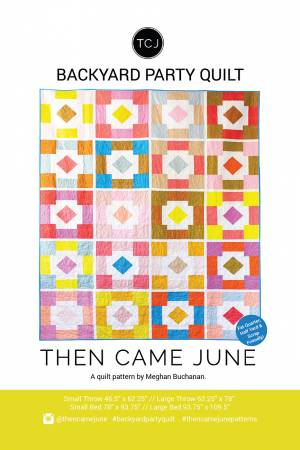 Backyard Party Quilt Pattern