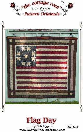 Flag Day Pattern By Cottage Rose