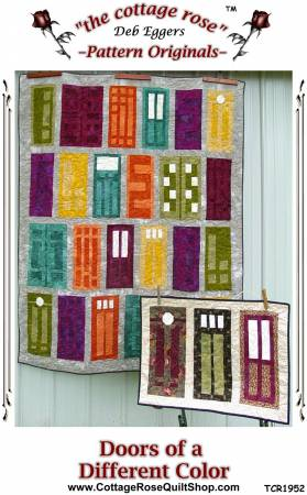 Doors of a Different Color Pattern by Cottage Rose