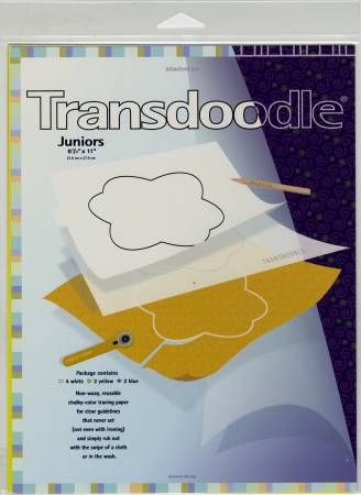 Transdoodle Transfer Sheets Junior Size