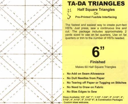 Ta-Da Half Square Triangles 6