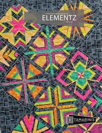 Elementz Block of the Month quilt pattern by Tamarinis