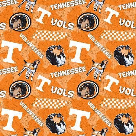 NCAA-Tennessee Volunteers Tone on Tone Cotton
