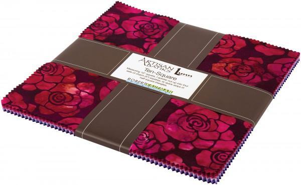 10in Squares Splendid Batik 42pcs/bundle