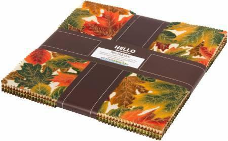 10in Squares Shades of the Season 10 42pcs/bundle