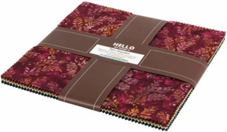 Bella Vita Batik 10 Squares 42pcs Ten-569-42