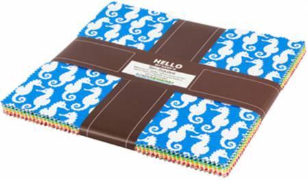 Reef Layer Cake 10in Squares Reef 42pcs/bundle