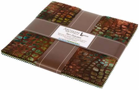 10 Squares Tavarua Batik 42pcs bundle