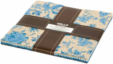 Chesterfield, 10in Squares, 42pcs/bundle