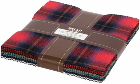 10in Squares Mammoth Flannel - New Colors 2020