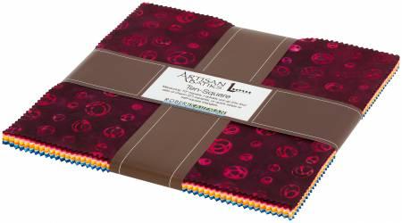 Good Vibes Batik Ten Squares