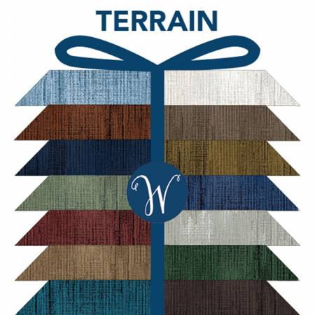 Fat Quarter bundle Terrain 20pcs/bundle