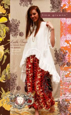 Luella Tunic And Pant Dress Pattern by Tina Givens