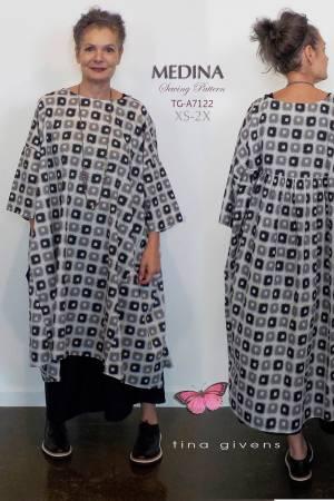 Medina Dress Or Tunic Dress Pattern by Tina Givens
