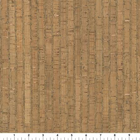 Cork Fabric - Natural Cork 25in Wide thickness 0.45MM-0.5MM