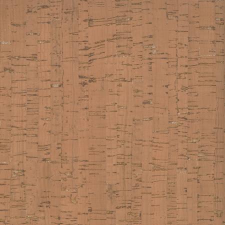 Tan w/Silver Metallic Cork Fabric