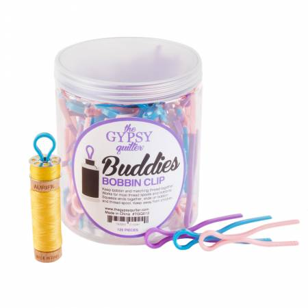 The Gypsy Quilter Bobbin Buddies 120pc Jar