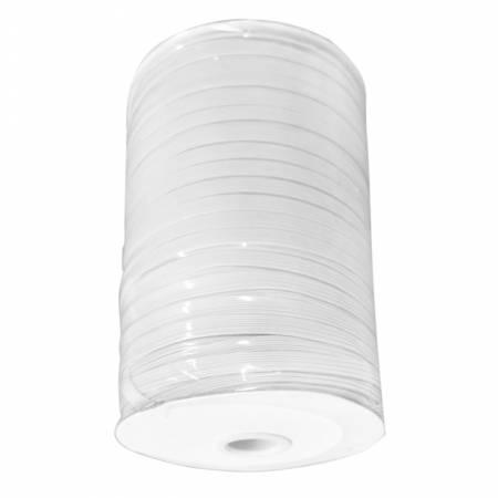 5 yards of 1/4in LATEX FREE Flat White Elastic