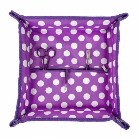 Tote Trivet Purple Dot